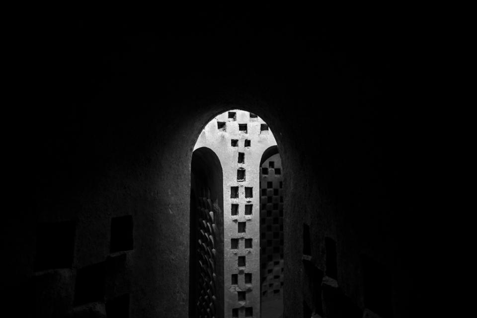window, pigeon tower, isfahan